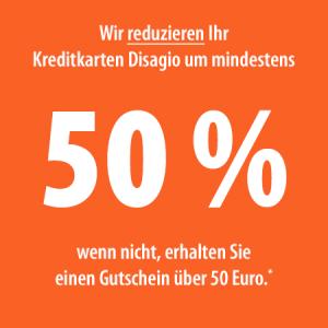 50 Prozent Disagio